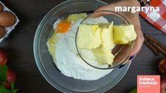Zdjęcie Szarlotka z połówkami jabłek - Pyszna i szybka! #2 Dairy, Pudding, Cheese, Desserts, Food, Tailgate Desserts, Deserts, Custard Pudding, Essen