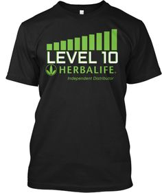 Limited-Edition LEVEL 10 Herbalife Shirt
