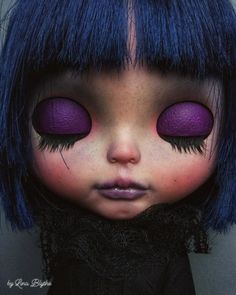 Blythe Dolls For Sale, Close Your Eyes, Baby Dolls, Halloween Face Makeup, The Originals, Etsy, Sweet, Blythe Dolls, Handmade Gifts