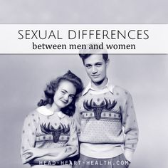 sexual differences between men and women