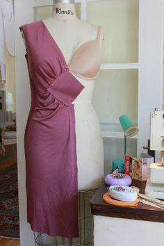 My Draped Dress Failure
