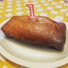 Bizcocho de #cumpleaños