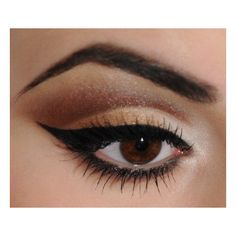 Neutral cut crease | Idea Gallery | Makeup Geek ❤ liked on Polyvore