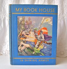 Vintage My Book House In Shining Armor 1937 by cynthiasattic, $25.00