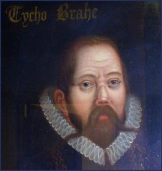 Tycho Brahe - astronomer genius,  hot head. His celestial observations w/out a telescope laid the groundwork for modern astronomy. Fought a sword duel with another mathematician over some calculations - and lost his nose. He made a fake nose for himself from brass and putty, using a special cement to keep it in place, which worked well until he sneezed. His body was recently exhumed for study.
