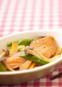鮭のちゃんちゃん焼き のレシピ・作り方 │ABCクッキングスタジオのレシピ | 料理教室・スクールならABCクッキングスタジオ
