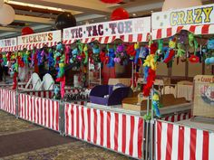 carnival booth diy - Google Search