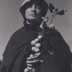 """""""You get whatever accomplishment you are willing to declare."""" — happy birthday to wise woman Georgia O'Keeffe"""
