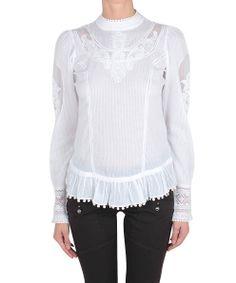High Rhapsody blouse cotton and lace   Lindelepalais.com 22060