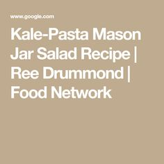 Chicken dumpling soup recipe bobby flay food network soup kale pasta mason jar salad recipe ree drummond food network forumfinder Images
