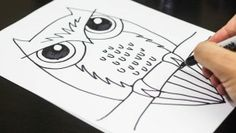 How To Draw An Owl, Elephant, Robot, Parrot, and much, much more! Awesome tutorials with a printout summary that can be given to students!