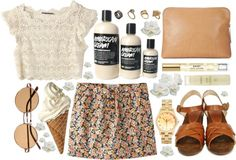 """sprung"" by rachelgasm ❤ liked on Polyvore"