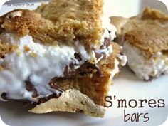 If you love S'mores, you will LOVE these S'mores Bars from sixsistersstuff.com!