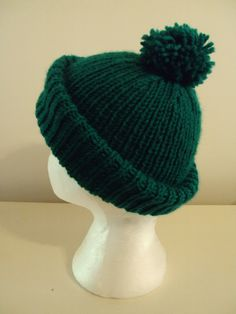 Mike Nesmith Green Wool Hat by kittone on Etsy, $22.00