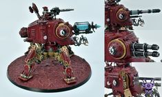 Adeptus Mechanicus: Onager Dunecrawler #ChaoticColors #commissionpainting #paintingcommission #painting #miniatures #paintingminiatures #wargaming #Miniaturepainting #Tabletopgames #Wargaming #Scalemodel #Miniatures #art #creative #photooftheday #hobby #paintingwarhammer #Warhammerpainting #warhammer #wh #gamesworkshop #gw #Warhammer40k #Warhammer40000 #Wh40k #40K #Adeptusmechanicus #Mechanicus #Admech #Adeptusmechanicus #Mechanicum #OnagerDunecrawler Warhammer 40000, Tabletop Games, Gw, Scale Models, Gadget, Miniatures, Clock, Creative, Painting