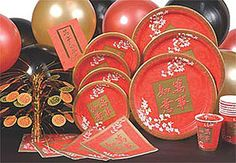 japanese themed party decorations | Chinese Theme Party -- Creative Party Themes and Ideas