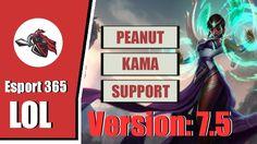 LOL Esport - SKT T1 Peanut Playing Kama Solo Support In Challenger Korea...