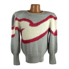 Ugly Christmas Sweater Vintage Tacky Holiday Party Women's size S