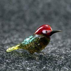 Color Glass #bird Check out here:  http://crwd.fr/2jY2tMS  #EtsyForAll #EtsyShopOwner #EtsySeller #EtsyStore #EtsySale #EtsyLove #giftforme #art #fusedglass #handmade #etsysuccess #glasslife #glass #birds #yellowhammer #cute #littlebird #lovebirds #seagull