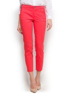 Suit slim trousers