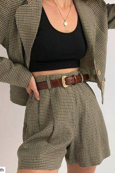 Korean Fashion Tips .Korean Fashion Tips Mode Outfits, Casual Outfits, Fashion Outfits, Fashion Clothes, Fashion Ideas, Fashion Hacks, Fashion Tips, Summer Outfits, Fashion Vest