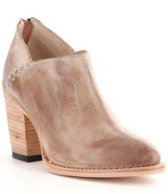 dfdc341884a Freebird Steel Whip-Stitch Detail Booties