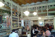 tapas bar during easter in seville