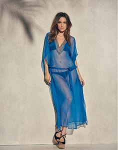 35ea2f6f17 Long tunic from Miss Tunica - Mondello Ibiza Blue