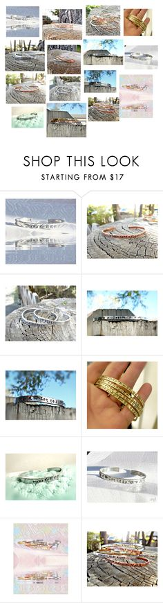 """""""Personalized Cuff Bracelets"""" by kelleygirlkiss on Polyvore"""