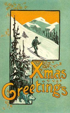 Christmas postcard | Flickr - Photo Sharing!