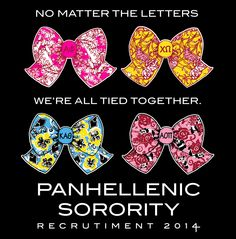Panhellenic Recruitment #sorority #recruitment #RhoGamma #TSM #Recruitment