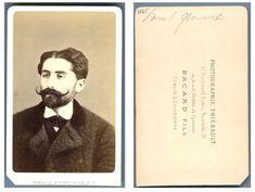 Commune de Paris, Bacard Fils, Le journaliste Paschal Grousset    #CDV #portraits #Hommes_politiques