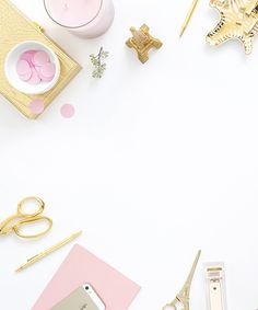 Pink & gold styled desktop. Styled Stock Photography for small business owners. Images for websites, custom website designs and Etsy shops. Styled stock image by Shay Cochrane. Keep an eye on the SC Stockshop on Cyber Monday, our biggest and one of our only sales of the year!