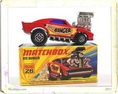 Dodge Charger Big Banger, Matchbox 1972