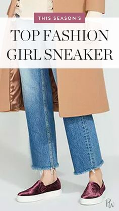 The Sneaker That Will Be on Every Fashion Girl's Wish List via @PureWow