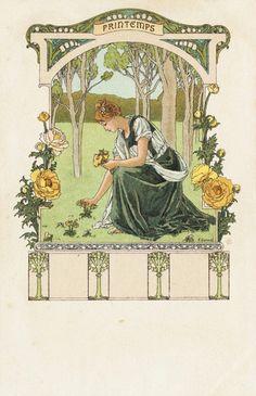 Elisabeth Sonrel (French, 1874-1953). Printemps.