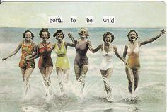 Vintage desperate housewives - Fun Stuff Cafe on imgfave Vintage Humor, Retro Humor, Vintage Posters, Retro Funny, Funny Vintage, Vintage Vibes, Vintage Prints, Vintage Images, Girls Getaway