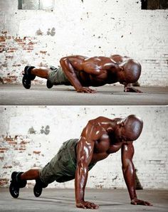 MeDL > I don't know about 'armageddon' but this is a base of my workout every day. I do these few exercises mixed in with treadmill, burpees, planks etc. & weights ... every day. The Armageddon Workout Routine - Men's Fitness
