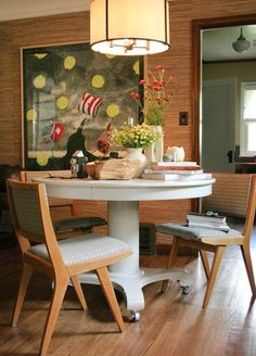 Must find the perfect round table to do this in my kitchen
