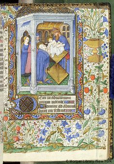 Book of Hours, M.63 fol. 48r - Images from Medieval and Renaissance Manuscripts - The Morgan Library & Museum