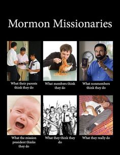 Differing viewpoints of missionaries.