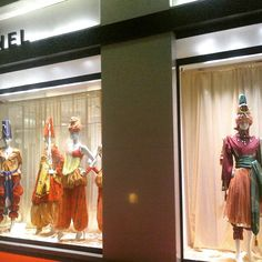 #chanel pays homage to the #russianballet in their #monaco #flagship #store.