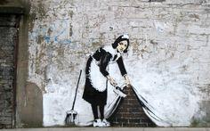 Graffiti Wallpapers Banksy Art Banksy Graffiti Stencil Pics