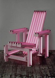 Iván Navarro, Pink Electric Chair