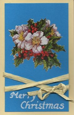 Christmas Flowers, Greeting Card