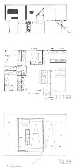 Le Corbusier. casas rurales