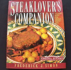 $3.00 - The Steaklover's Companion 1997 HCDJ 1st Ed. (82216-811) cookbooks, recipes