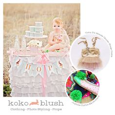 Koko Blush Vintage Easter Party Loralee Lewis