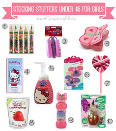 10 awesome stocking stuffer ideas for girls -- all under $5 each!