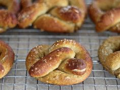 Sweet Nothings In The Kitchen: Queen of Knots - Gluten Free Chewy Soft Pretzels